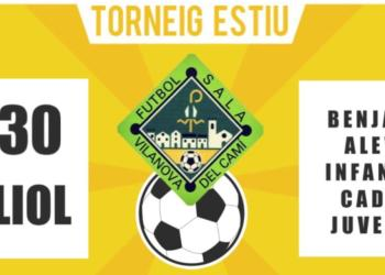 cartell del CF Sala Can tito v1