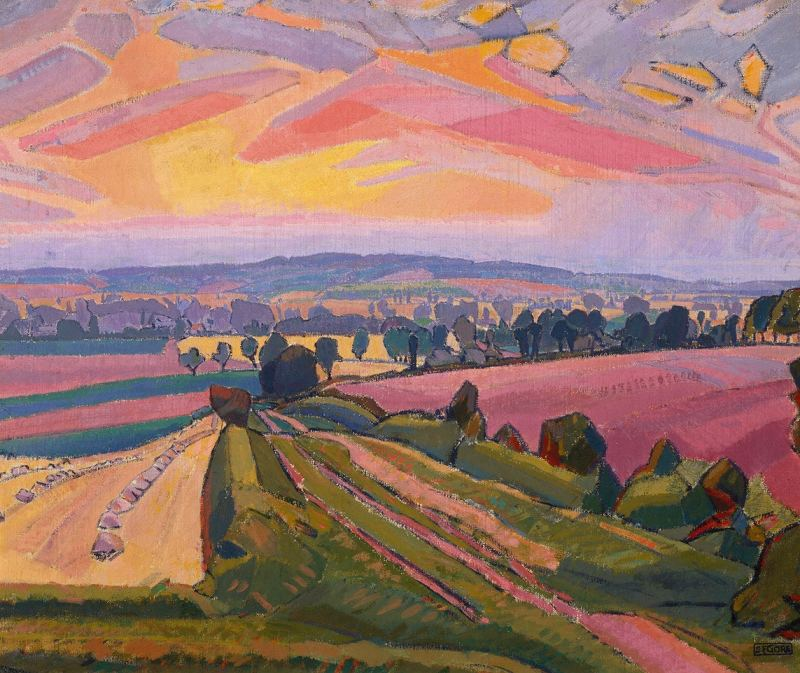 The Icknield Way Spencer Frederick Gore 1912