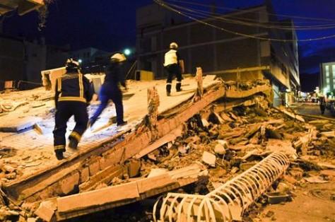 Efectes del sisme a Llorca