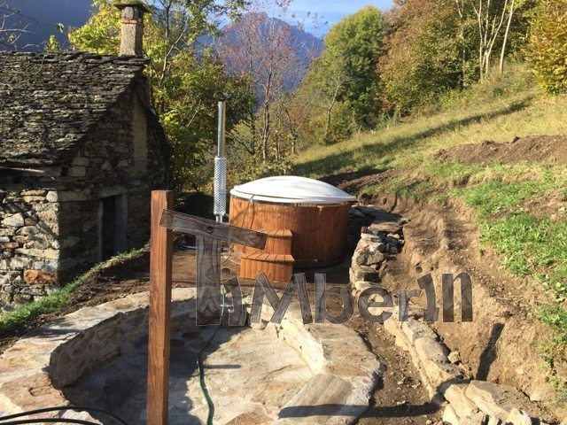 Vildmarksbad I Glassfiber Wellness Royal Steen Valle Antrona Italy 4