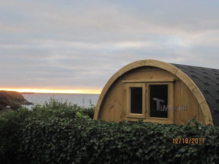 Udendørs Sauna I Træ Til Haven Tønde Design, Thomas, Rønne, Danmark (1)