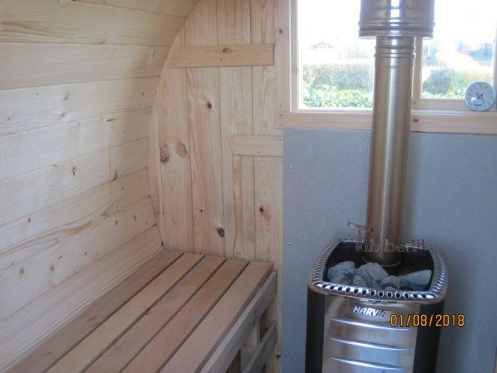 Udendørs Sauna I Træ Til Haven Tønde Design, Thomas, Rønne, Danmark (2)