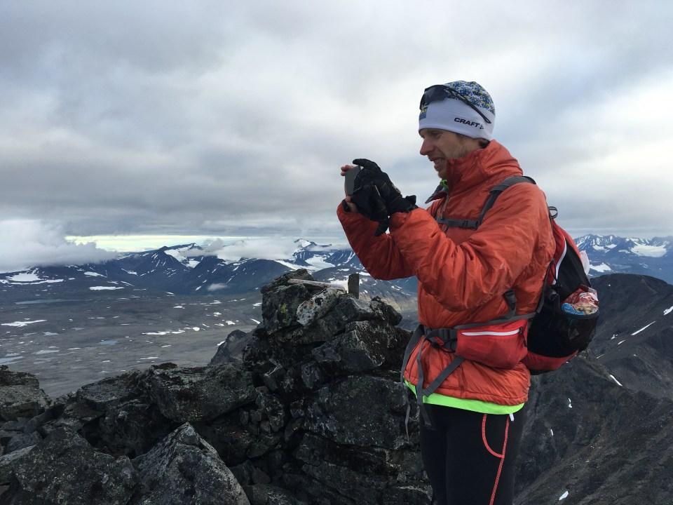 Toppen av Palkattjåkko