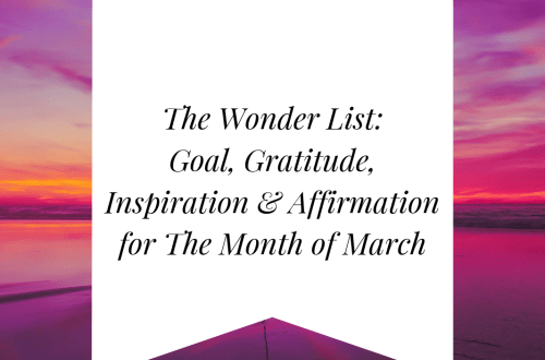 The Wonder List March Image