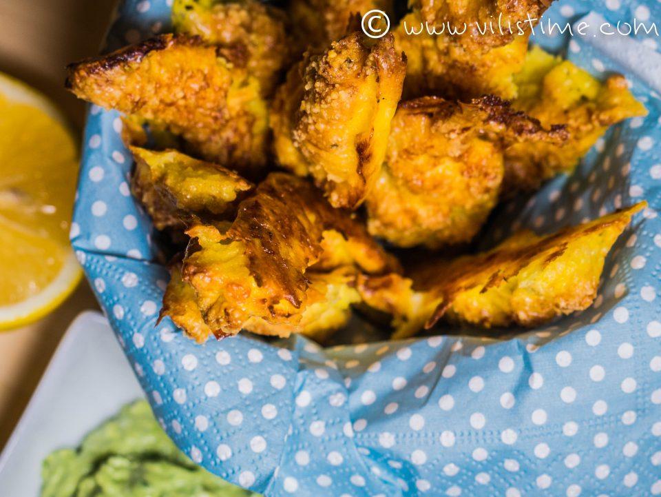Пилешки пръчици с куркума и пармезан на фурна