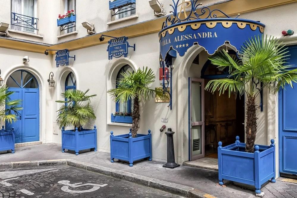 Htel Villa Alessandra Htel Paris 17me Chambres