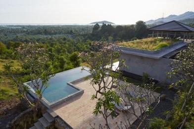Villa Arun Bali - birds eye view