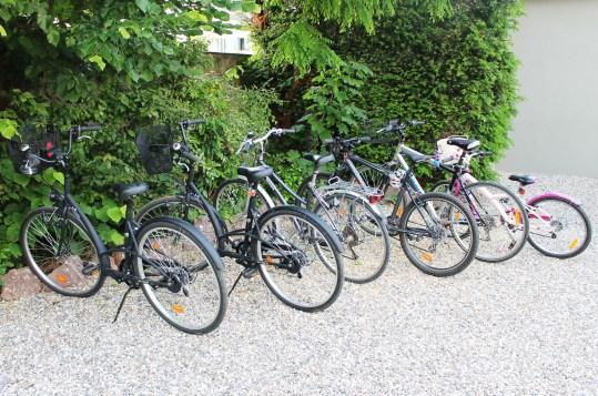 les vélos de la villa elyane