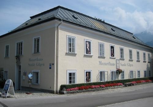 Verpassen sie nicht das Mozart Haus in St Gilgen