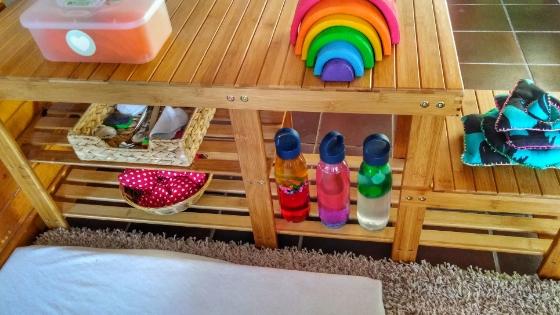 Montessori Banner - Montessori Krabbelecke für dein Baby