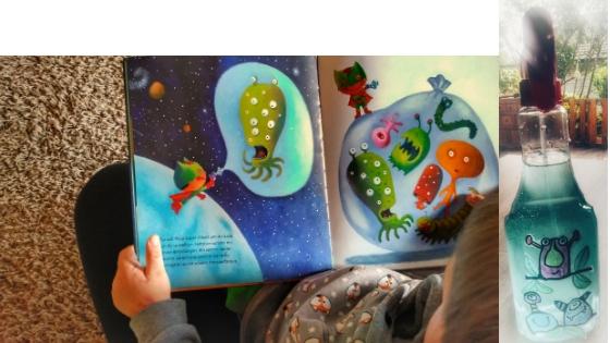 Monsterspray - Angst bei Kindern – So verjagst du alle bösen Monster