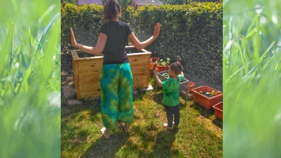 Yoga3 - Yoga für Kinder- Die Geschichte vom Mond zum Nachmachen