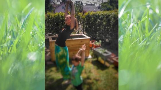 Yoga9 - Yoga für Kinder- Die Geschichte vom Mond zum Nachmachen