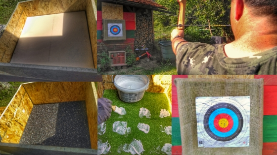 Bogenschie%C3%9Fen - Spielidee für den Garten - Meine TOP 10 DIYs