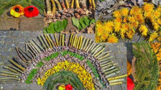 Mandala - Spielidee für den Garten - Meine TOP 10 DIYs