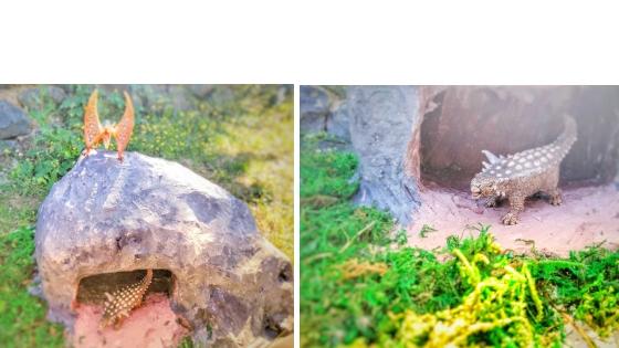 Dino5 - Dino Landschaft - Eine Montessori inspirierte Spielwelt
