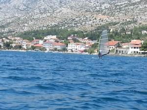 Starigrad Windsurfen Kroatien