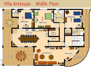 Villa-Aretousa-Middle-Floor