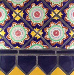 mexican pool tiles