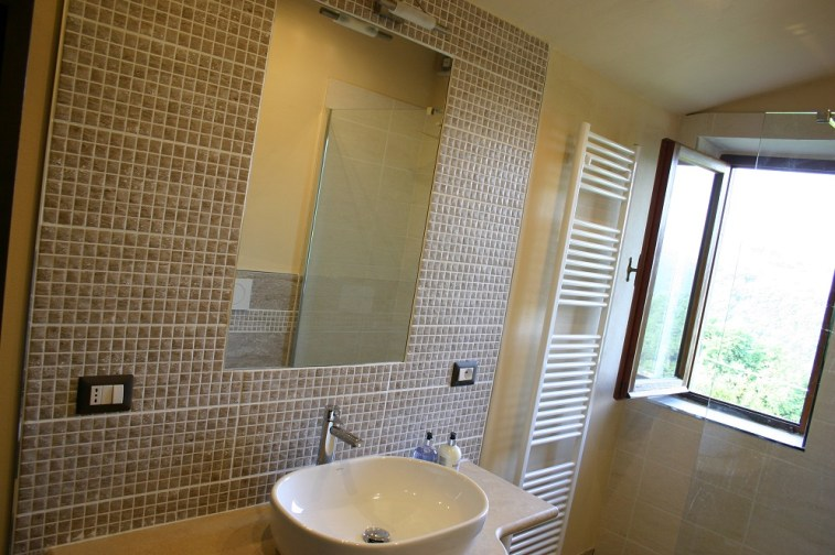 Bathroom in Apartment Quercia