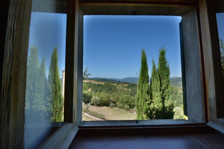 View from Villa in Umbria