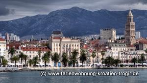 Diokletianspalast Split: UNESCO Wltkulturerbe in Kroatien. Foto: Michael Dunker