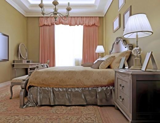 aranżacje sypialni w starym stylu