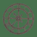 industrialny zegar dosalonu