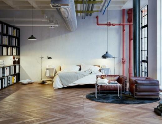 mieszkanie typu loft
