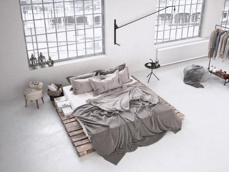 Industrialna sypialnia w stylu loft – nowoczesne inspiracje - Blog  Villadecor