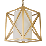lampa wisząca złota