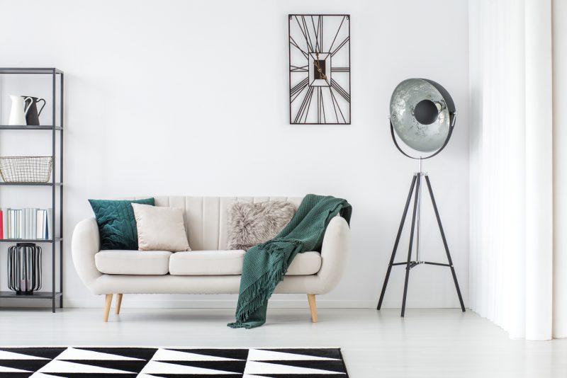 Zaktualizowano Zegary ścienne w stylu skandynawskim - Inspiracje i aranżacje OY75