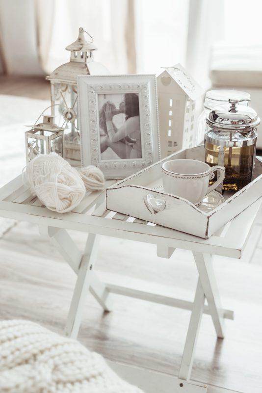 romantyczny salon