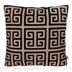 czarno złota poduszka dekoracyjna