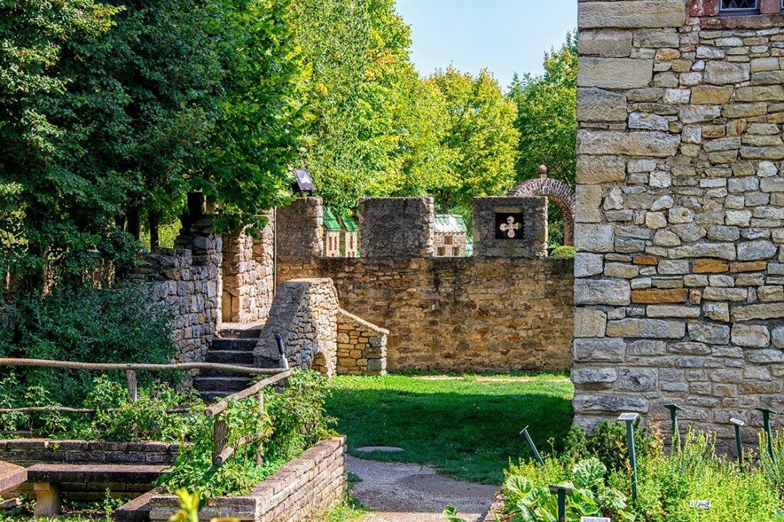 Les jardins de la tour