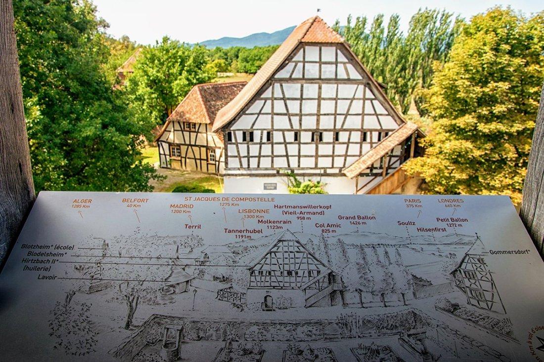 Carte dans la tour