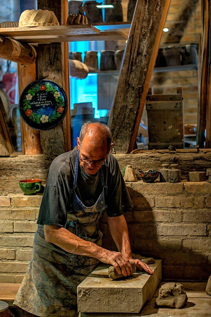 Faire de la poterie avec de la terre de Soufflenheim