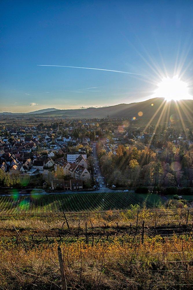 Couché de Soleil sur le Mont Sainte-Odile