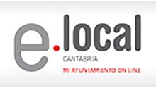 Imagen de acceso E-Local Cantabria