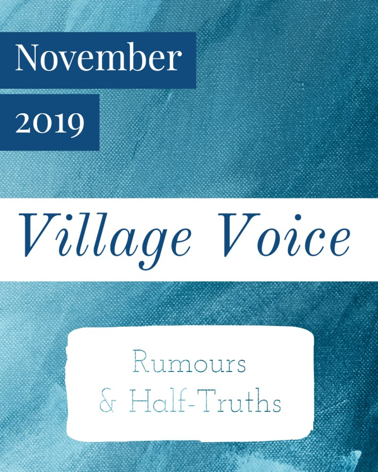 Village Voice: November 2019