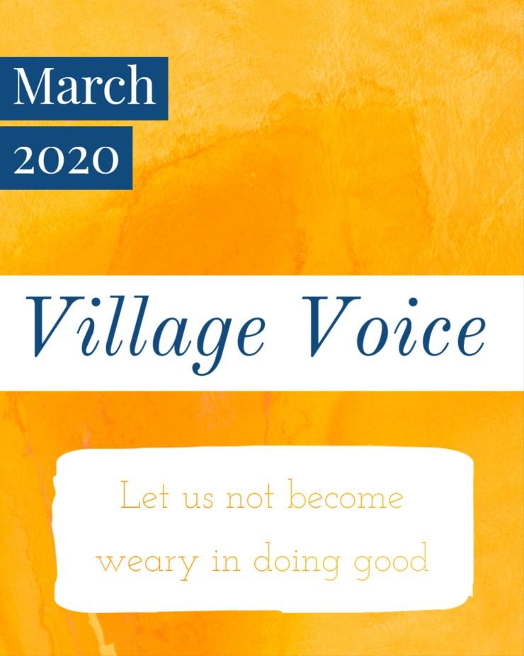 Village Voice: March 2020