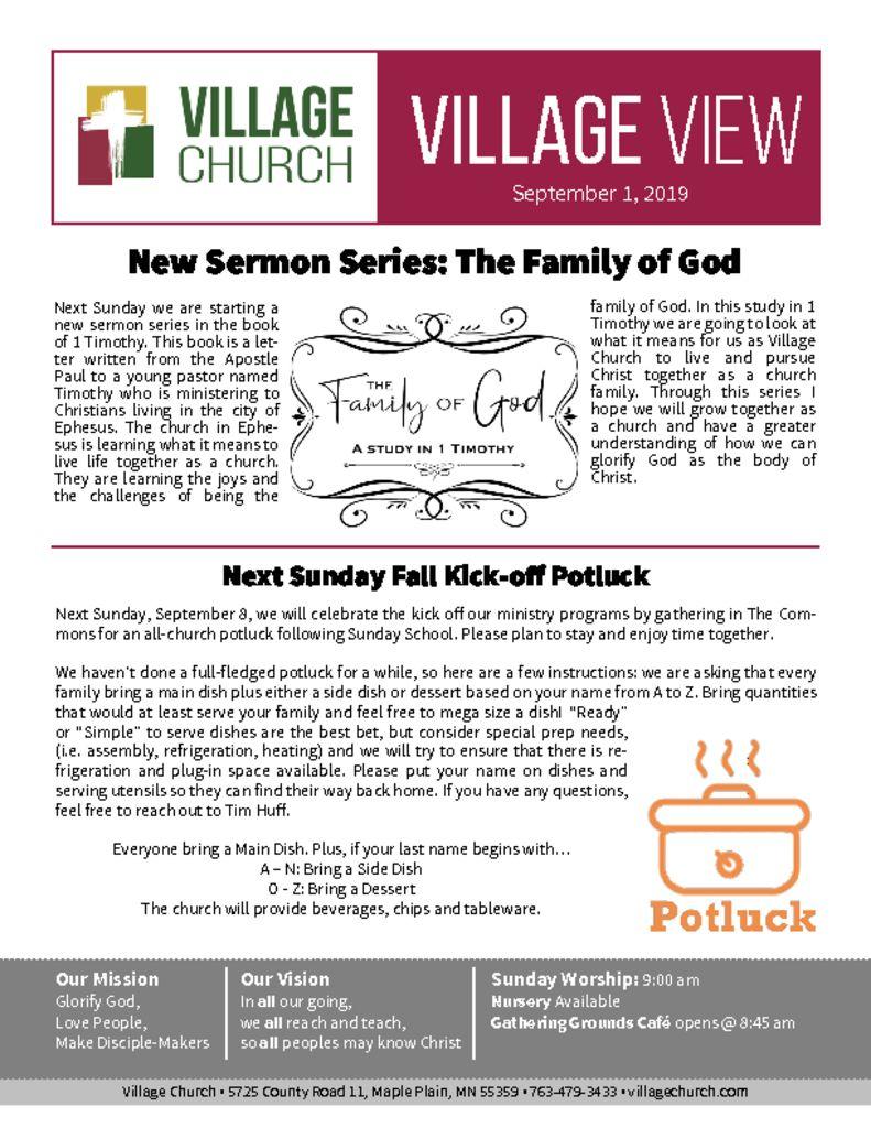Village View – Village Church