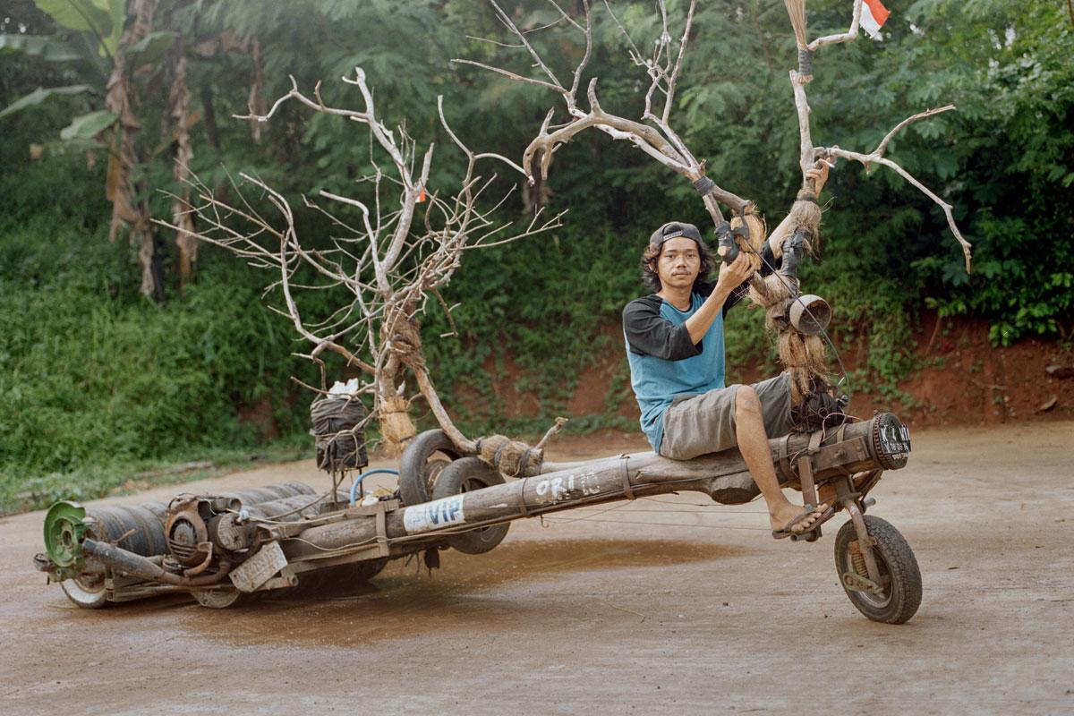 摩托車大國印尼,車迷各自發揮,改裝座騎顯現個性…