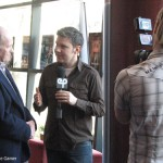 Victor Lucas Interviewing Harrison Ellenshaw