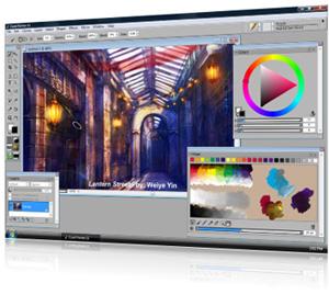 Painter 11 Screenshot