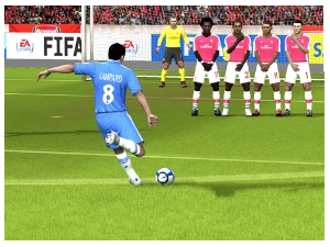 FIFA Free to Play Screen