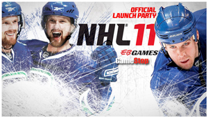 NHL 11 Launch