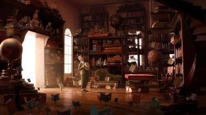 The Fantastic Flying Books of Mr. Morris Lessmore Directed by William Joyce and Brandon Oldenburg, Moonbot Studios (Phot