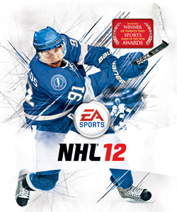 Steven Stamkos on NHL 12 Cover