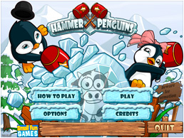 Hammer Penguins start screen